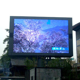 China Big Billboard Outdoor LED Video Wall  Wide Viewing Angle For Media Advertising supplier