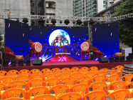 China Clear Image Outdoor Rental LED Display 140° Wide View Angle Low Power Consumption factory