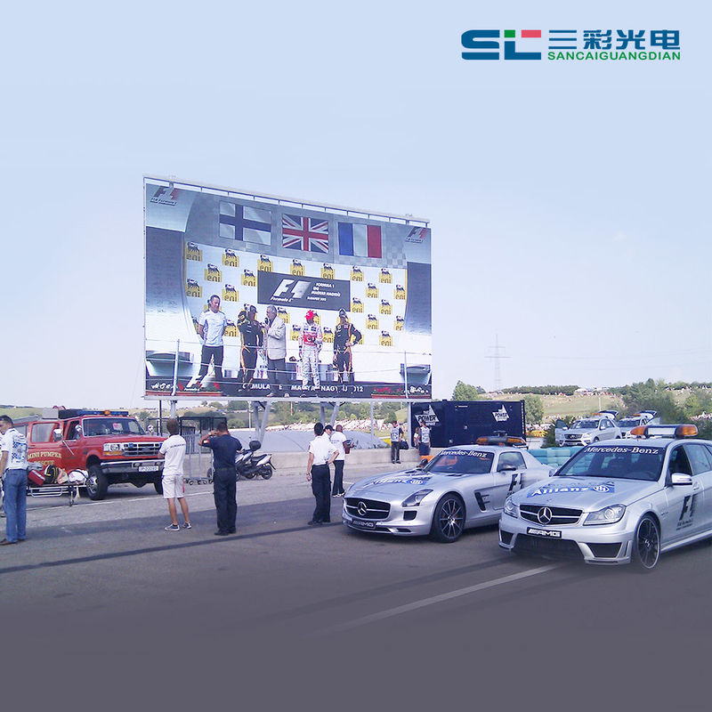 P10 Outdoor LED Video Wall LED module , LED Display