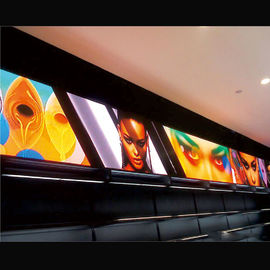 Small P2 Indoor Full Color LED Display Screens High Resolution For Movie Theaters