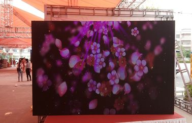China High Brightness Outdoor Rental LED Display SMD3535 RGB Excellent Heat Dissipation distributor