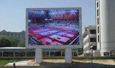 Full Color Smd Outdoor Led Display , Asynchronous P6 Smd Led Panel Display