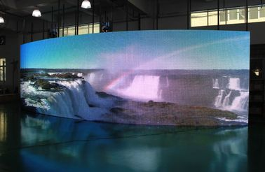 China Outdoor Hd Video Play Led Display Module , Light Weight Led Screen Module factory