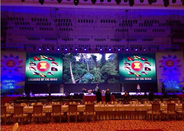 China High Resolution Stage LED Display Full Color P3.91/P4.81 13S Scan Mode 38.5 Watt distributor