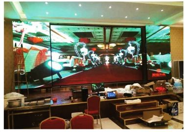 China Meeting Room Indoor LED Screen 7.62mm Pixel Pitch Slim Light Weight Energy Saving distributor