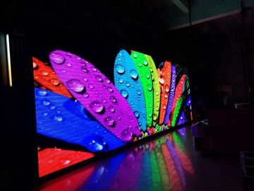 China Full Color Indoor Led Video Wall , P4 Led Stage Backdrop Screen 2 Years Warranty distributor