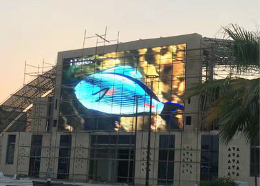 China HD Full Color Outdoor Advertising LED Display Brightness 6000-6500 Nits P10 1R1G1B distributor