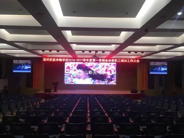 China Synchronization Color Indoor Full Color LED Display HD Module P4 SMD1921 25 Watt distributor