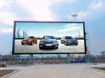 China 1R1G1B 25W Led Outdoor Advertising Screens Constant Drive Low Power Consumption P5 distributor