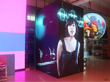 China SMD Nationstar Indoor Rental Led Screen 28224 Dot /M2 Full Color P6.25 250*250mm Module distributor