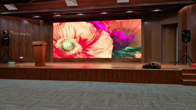 Square  / Stadium LED Wall Display , Automatic Switch Pixel Pitch 4.81mm LED Video Screen