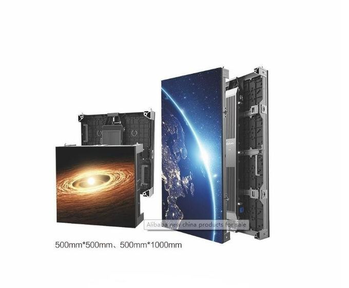Floor Standing Large Outdoor Advertising LED Display 5000CD Brightness For Shopping Malls