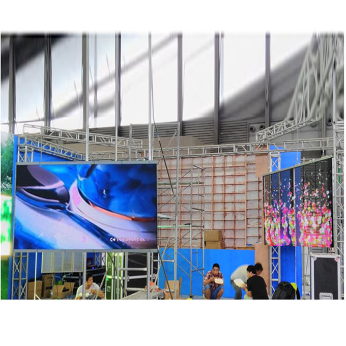 Supermarket Advertising  Outdoor LED Video Wall Energy Saving For Exhibition